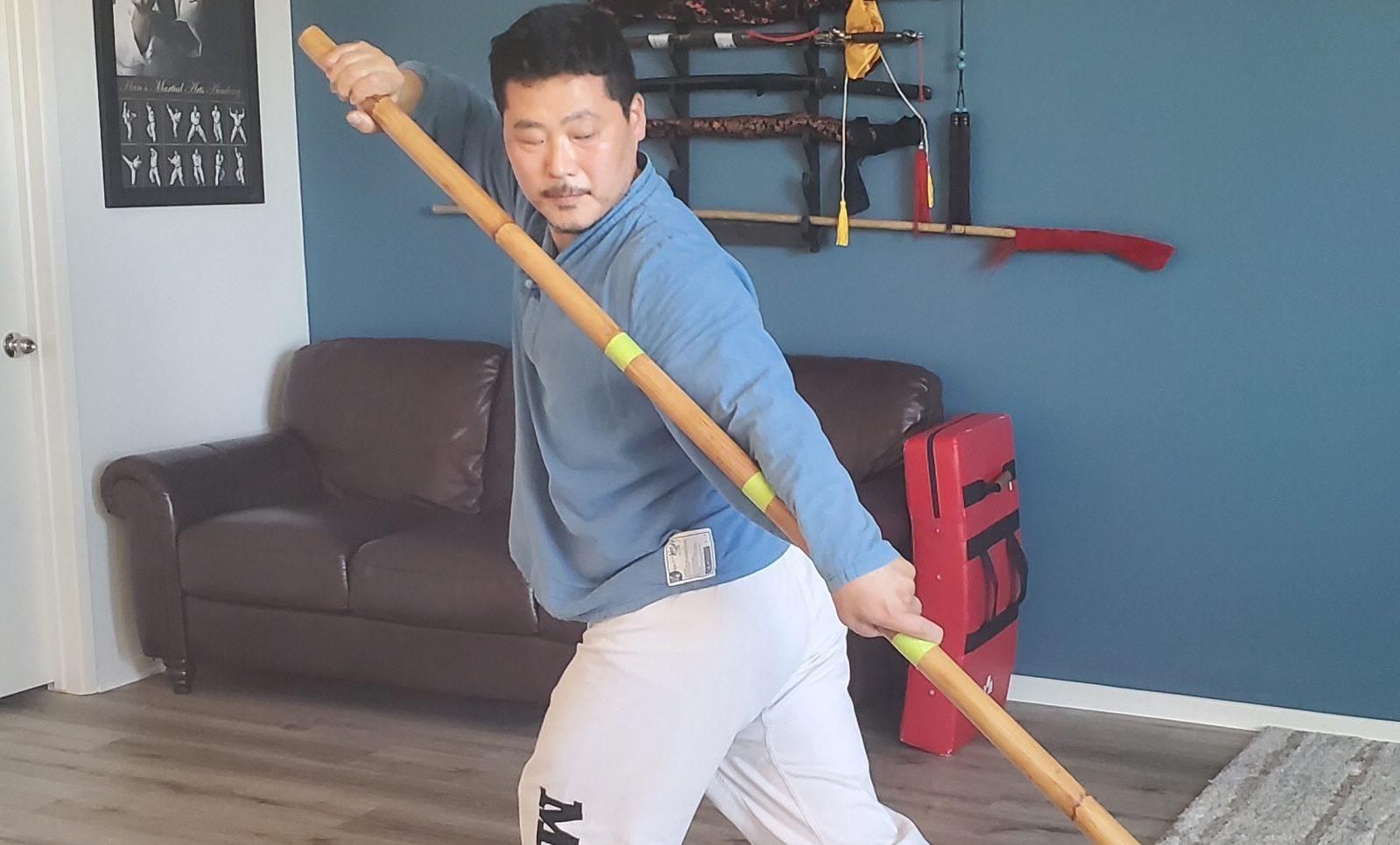 13 Posture Long Pole